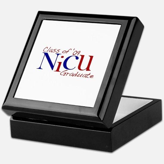 NICU Graduate 2009 Keepsake Box