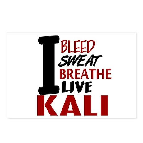 Bleed Sweat Breathe Kali Postcards (Package of 8)