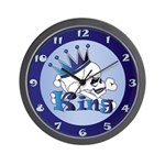 Skull King Wall Clock