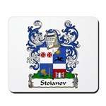 Stoianov Family Crest Mousepad
