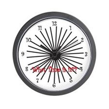 Crazy Wall Clock
