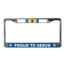 Korean War Service License Plate Frame