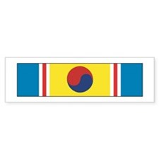 Korean War Service Bumper Bumper Sticker