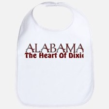 Alabama the heart of Dixie Bib