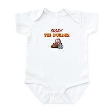 Brady the Builder Infant Bodysuit