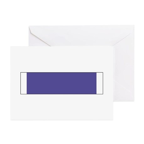 Purple Heart Greeting Cards (Pk of 10)