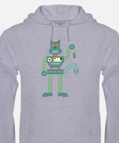 Robot Cat Mouse Toy Hoodie