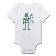 Robot Cat Mouse Toy Onesie