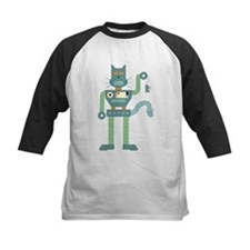 Robot Cat Mouse Toy Tee