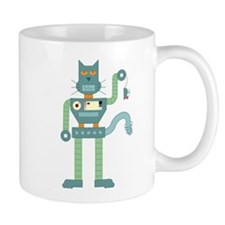 Robot Cat Mouse Toy Coffee Mug