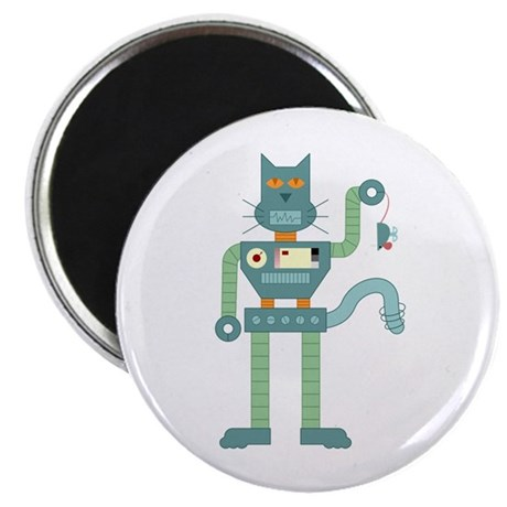 Robot Cat Mouse Toy Magnet