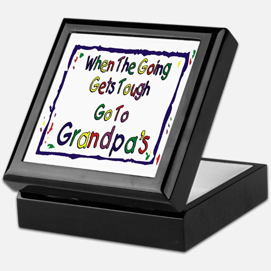 Go To Grandpa's Keepsake Box