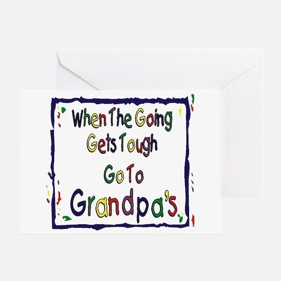 Go To Grandpa's Greeting Card