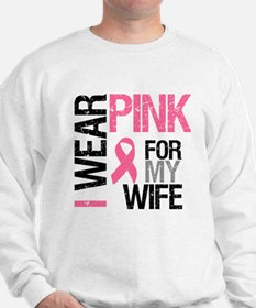 I Wear Pink Wife Jumper