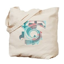 Turquoise Dawn Tote Bag