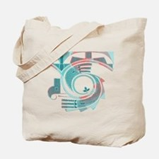 Turquoise Dawn Tote Bag