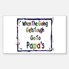 Go To Papa's Decal