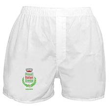 ITALIAN GRANDPA Boxer Shorts