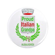 """ITALIAN GRANDPA 3.5"""" Button"""