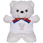 Fine Line Brave Stupid Teddy Bear