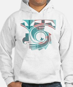 Turquoise Dawn Hoodie