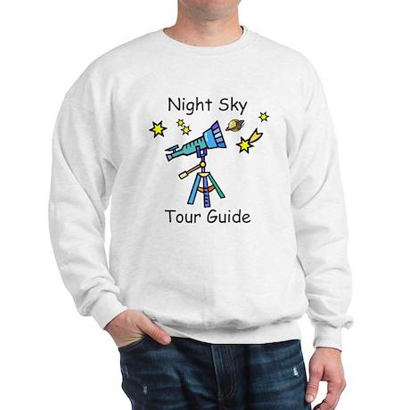 Night Sky Tour Guide Sweatshirt