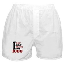 Bleed Sweat Breathe Judo Boxer Shorts