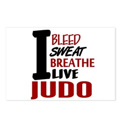 Bleed Sweat Breathe Judo Postcards (Package of 8)