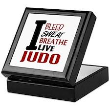 Bleed Sweat Breathe Judo Keepsake Box