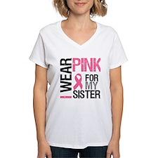 I Wear Pink Sister Shirt