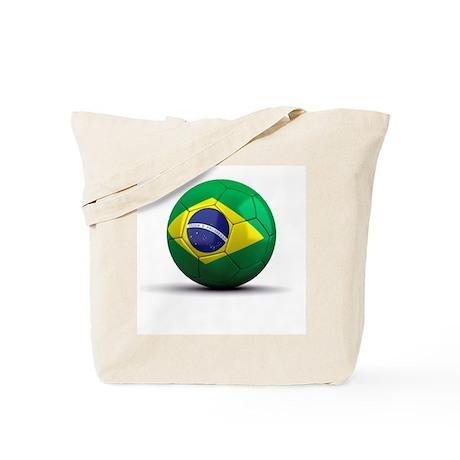 Brazilian Soccer Ball Tote Bag