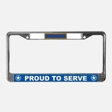 Presidential Unit Citation License Plate Frame