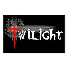 Twilight Movie Rectangle Decal