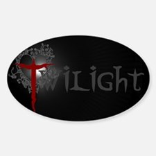 Twilight Movie Oval Decal