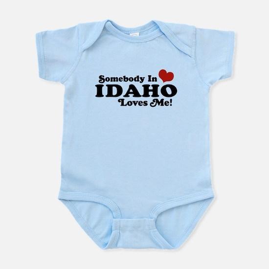 Somebody in Idaho Loves me Infant Bodysuit