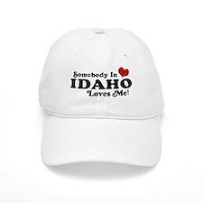 Somebody in Idaho Loves me Baseball Baseball Cap