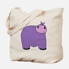 Friendly Hippopotomus Tote Bag