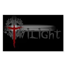 Twilight Movie Rectangle Decal