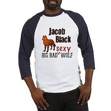 Big Bad Sexy Wolf. Baseball Jersey