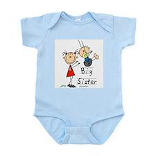 Swing Big Sister Little Brother Infant Bodysuit