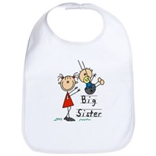 Swing Big Sister Little Brother Bib