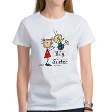 Swing Big Sister Little Brother Tee