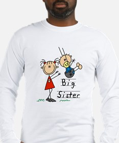 Swing Big Sister Little Brother Long Sleeve T-Shir