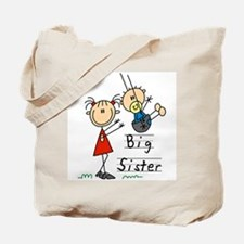 Swing Big Sister Little Brother Tote Bag
