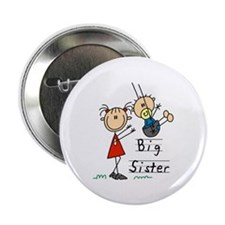 "Swing Big Sister Little Brother 2.25"" Button (100"