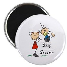"""Swing Big Sister Little Brother 2.25"""" Magnet (10 p"""