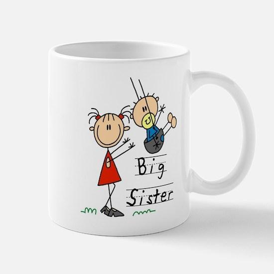 Swing Big Sister Little Brother Mug