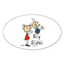 Swing Big Sister Little Brother Decal
