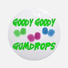 Goody Gumdrops Ornament (Round)