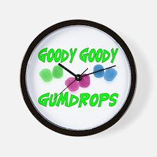 Goody Gumdrops Wall Clock